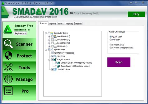 free anti virus tools freeware downloads and reviews from smadav 2016 antivirus free download terbaru softlay