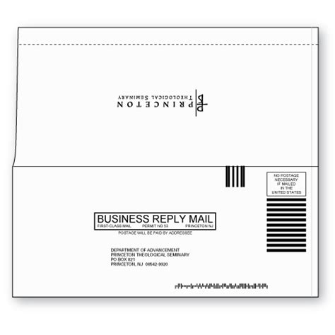 Perfect Bound 9 Business Reply Envelope Custom Printed Sheppard Envelope 9 Business Reply Envelope Template