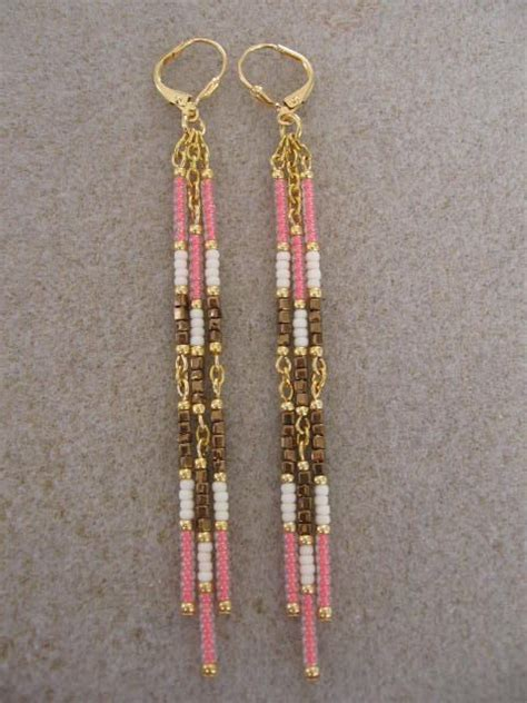 Bead Dangle Earrings 25 best ideas about dangle earrings on diy
