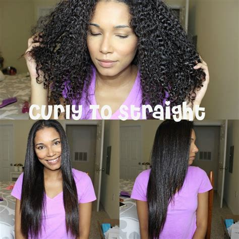 straighten curly hair  blow drying youtube