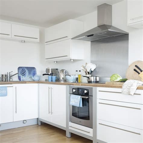 white and blue kitchen kitchen designs fitted kitchens