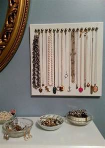 Silver Upholstery Tacks 17 Best Ideas About Diy Necklace Holder On Pinterest