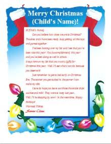 letter from santa word template free 6 best images of printable christmas letter to santa best photos of letter from santa stationary template