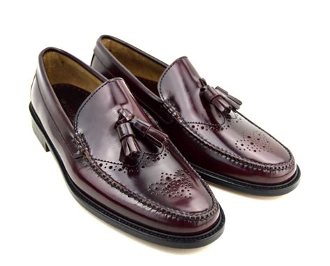 brogues and loafers tassel loafer brogues in oxblood the lord brogue mod shoes