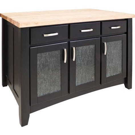 Jeffrey Kitchen Island Jeffrey Contemporary Kitchen Island With