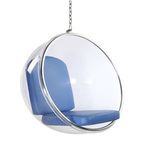 modern hanging chair finemod imports modern bubble hanging chair minimal modern