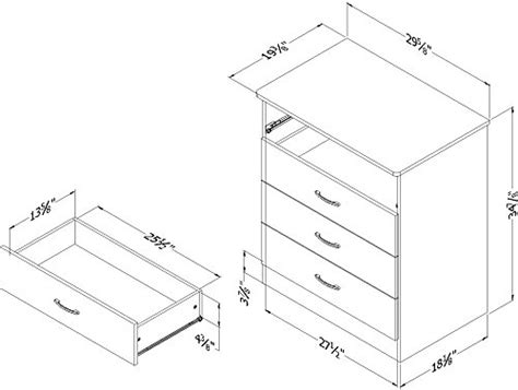 libra 4 drawer dresser in pure black finish home furniture bedroom furniture dressers south shore libra 4 drawer dresser pure black import it all