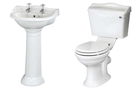 traditional bathroom basin ryther toilet cloakroom basin set premier by ultra