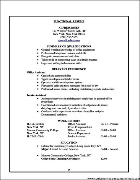 office assistant resume example administrative assistant resume