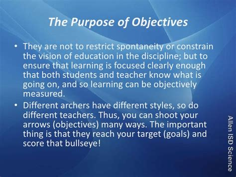 educational and career goals and objectives writing educational goals and objectives