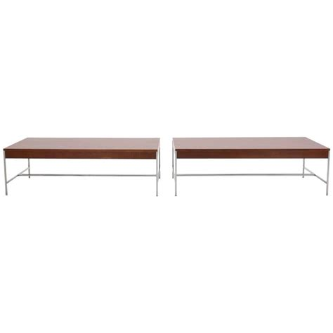 Nelson Coffee Table Matched Pair Of George Nelson Coffee Tables For Sale At 1stdibs