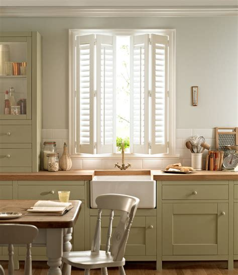 shutters for kitchen cabinets shutters farmhouse kitchen west midlands by a b