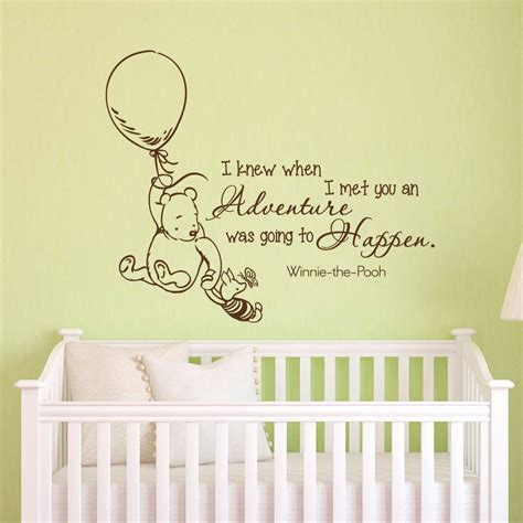 top 20 of winnie the pooh nursery quotes wall