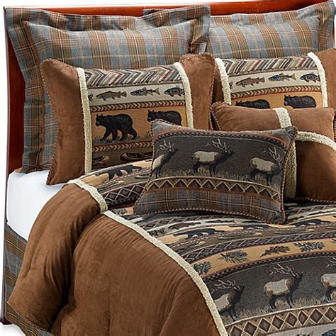 croscill 174 caribou comforter set bed bath beyond