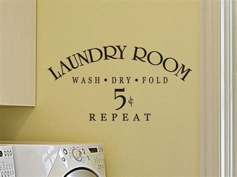 Laundry Room Decorations For The Wall Laundry Room Wall Decal Wall Decor Laundry Room Decal Laundry
