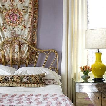 tapestry over bed tapestry over bed contemporary bedroom elle decor