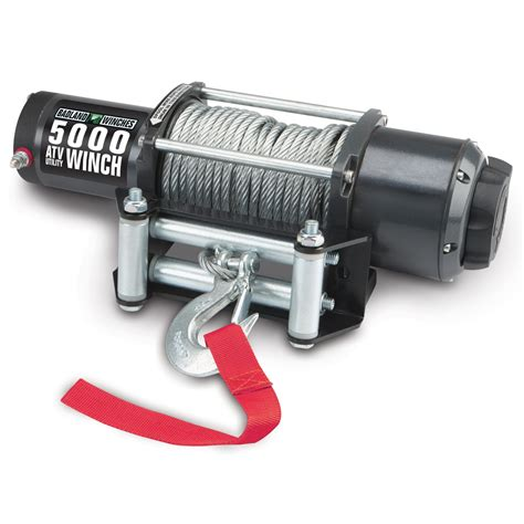 electric boat winch harbor freight 5000 lb atv utility electric winch with automatic load