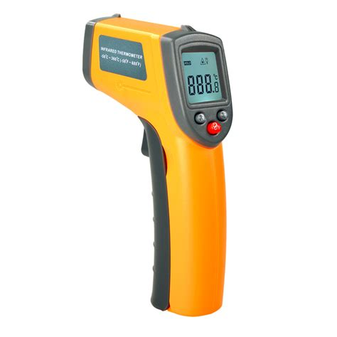 Promo Thermometer Digital Infrared Terbatas gs320 laser lcd display ir digital thermometer auto temperature meter non contact sensor