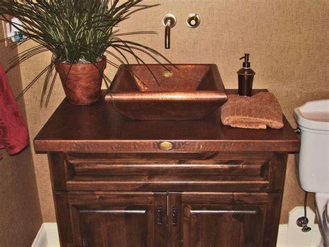 copper bathroom vanity 1000 ideas about copper bathroom sinks on pinterest