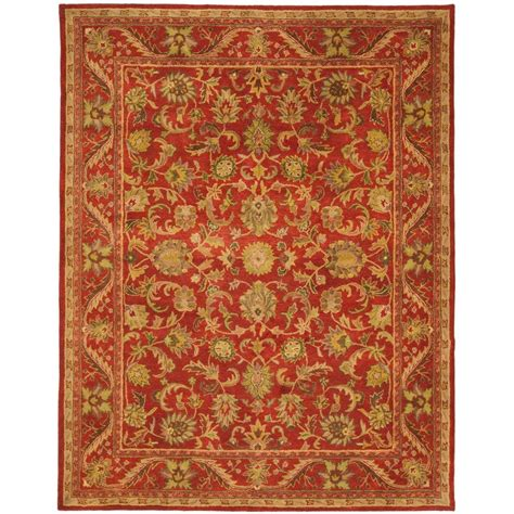 area rugs 8 x 11 safavieh antiquity 8 ft 3 in x 11 ft area rug at52e 9 the home depot