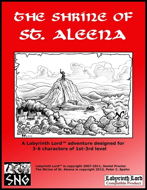 the forgotten shrine bounders books lla006 the shrine of st aleena small niche