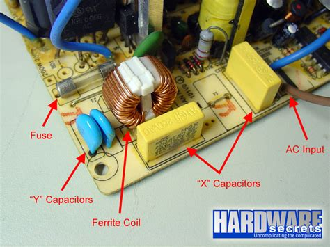 y capacitor design anatomy of switching power supplies hardware secrets transient filtering
