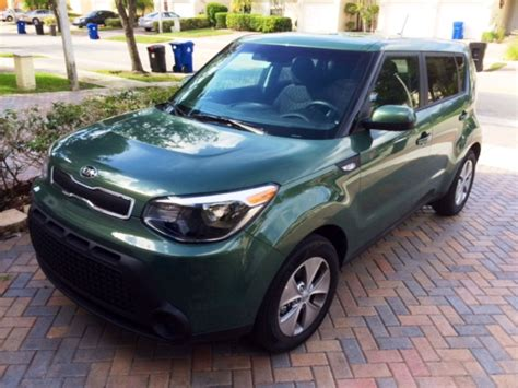 Kia Soul 2014 Green Kale Green Kia Soul Base Photos Owner Kia