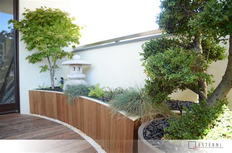 terrazzi esterni esterni progetti terrazzi terrazzo zen 15 mq