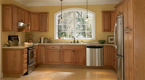 Kitchen Wall Color With Oak Cabinets Kitchen Color Ideas With Light Oak Cabinet Collections