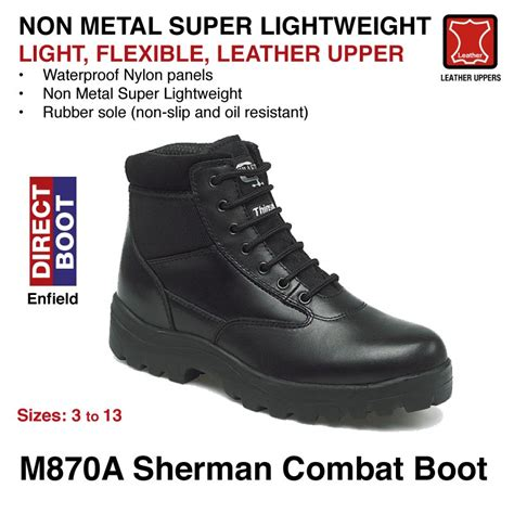 m870 sherman combat boot
