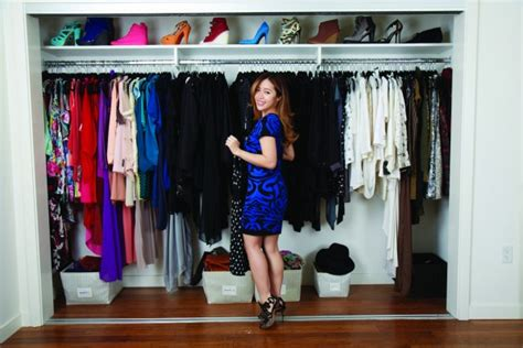 Exceptional Organizing Clothes Closet Ideas #7: Organized-closet-michelle-phan-e1429080674118.jpg