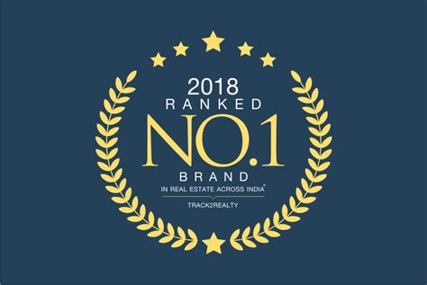 sobha ranked no 1 brand in real estate across india by