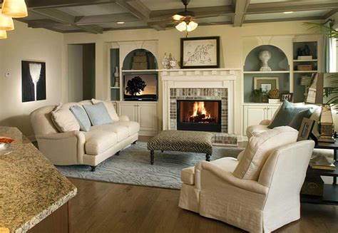 beautifully decorated living rooms preparing your home for fire safety precautions