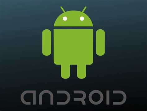 android free android logo vector graphics freevector