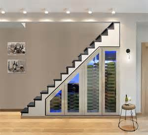 understairs storage 20 eye catching under stairs wine storage ideas