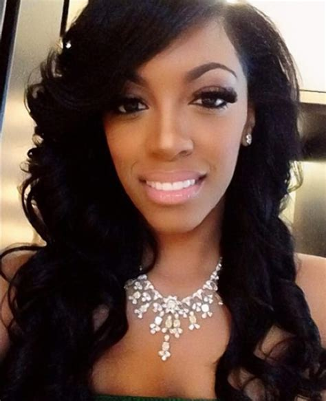porche with real hair from atalanta housewives aisha real housewives of atlanta s porsha williams