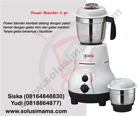 Blender Bumbu Basah solusi power blender