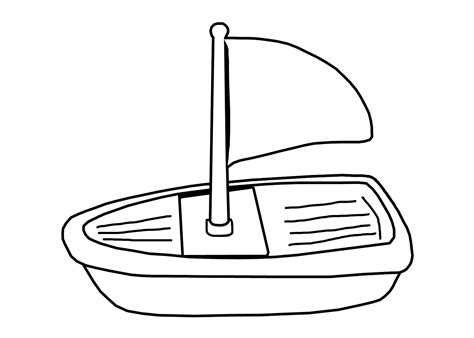boat template boat template clipart best