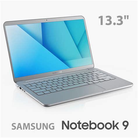 2018 samsung notebook 9 pro 13 quot with s pen ultraboooks 3d samsung notebook 9 13 model turbosquid 1240908