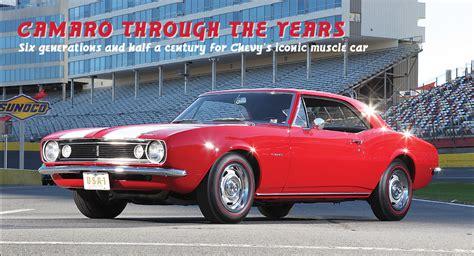 Chevy Camaro The Years by Chevrolet Camaro Through The Years 1967 2017 Goodguys
