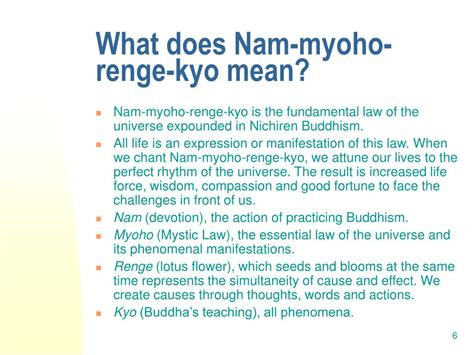 nam myoho renge kyo living the mystic through daimoku books ppt buddhism a dynamic humanism powerpoint presentation