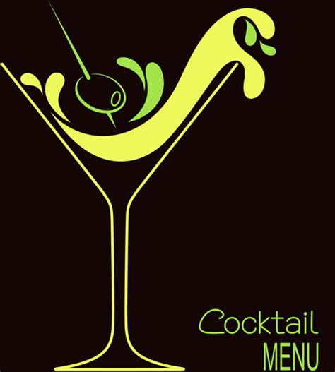cocktail logo cocktails logos creative vector free vector in