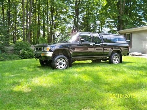 1992 Toyota 4x4 For Sale Purchase Used 1992 Toyota Extended Cab Up 4x4 In