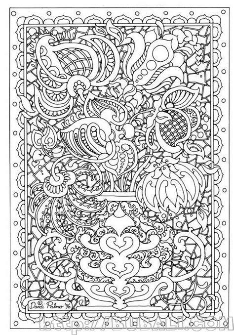 Dibujos Complicados Para Colorear Bubali Intricate Coloring Pages Printable 2