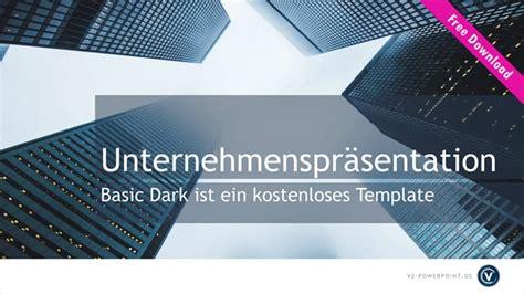 powerpoint design vorlage kostenlos kostenlose powerpoint vorlage basic dark v2 powerpoint de