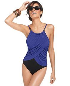 magicsuit draped tummy control one piece swimsuit cute bikini for older women over 40 or 50 http www