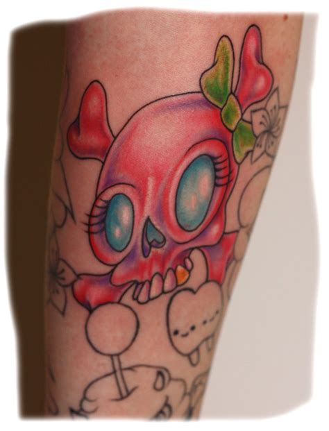 cute girly skull tattoos designs pretty skull tattoos for skull tattoos
