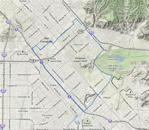 pacoima california map pacoima ca information