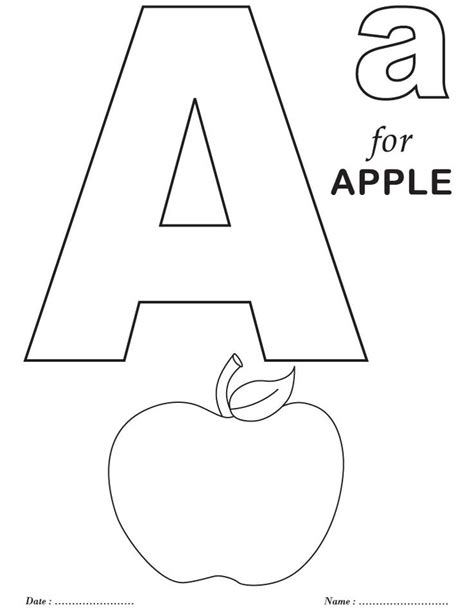 letter a coloring pages best 25 alphabet coloring pages ideas on abc