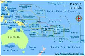pacific south america map south pacific map of south pacific creme de la creme